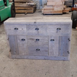 Sideboard Scaffolding Wood