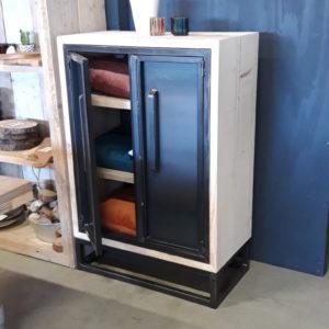 Cabinet Steel/wood