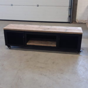 TV Furniture Made Of Steel And Wood